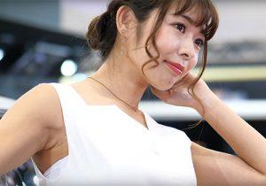 フェロモンムンムンなワキマンコから目が離せなくなるキャンギャル TOKYO AUTO SALON 2019(東京オートサロン2019)